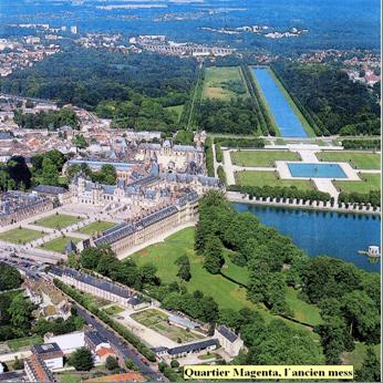 Le quartier magenta fontainebleau for Jardin anglais chateau fontainebleau